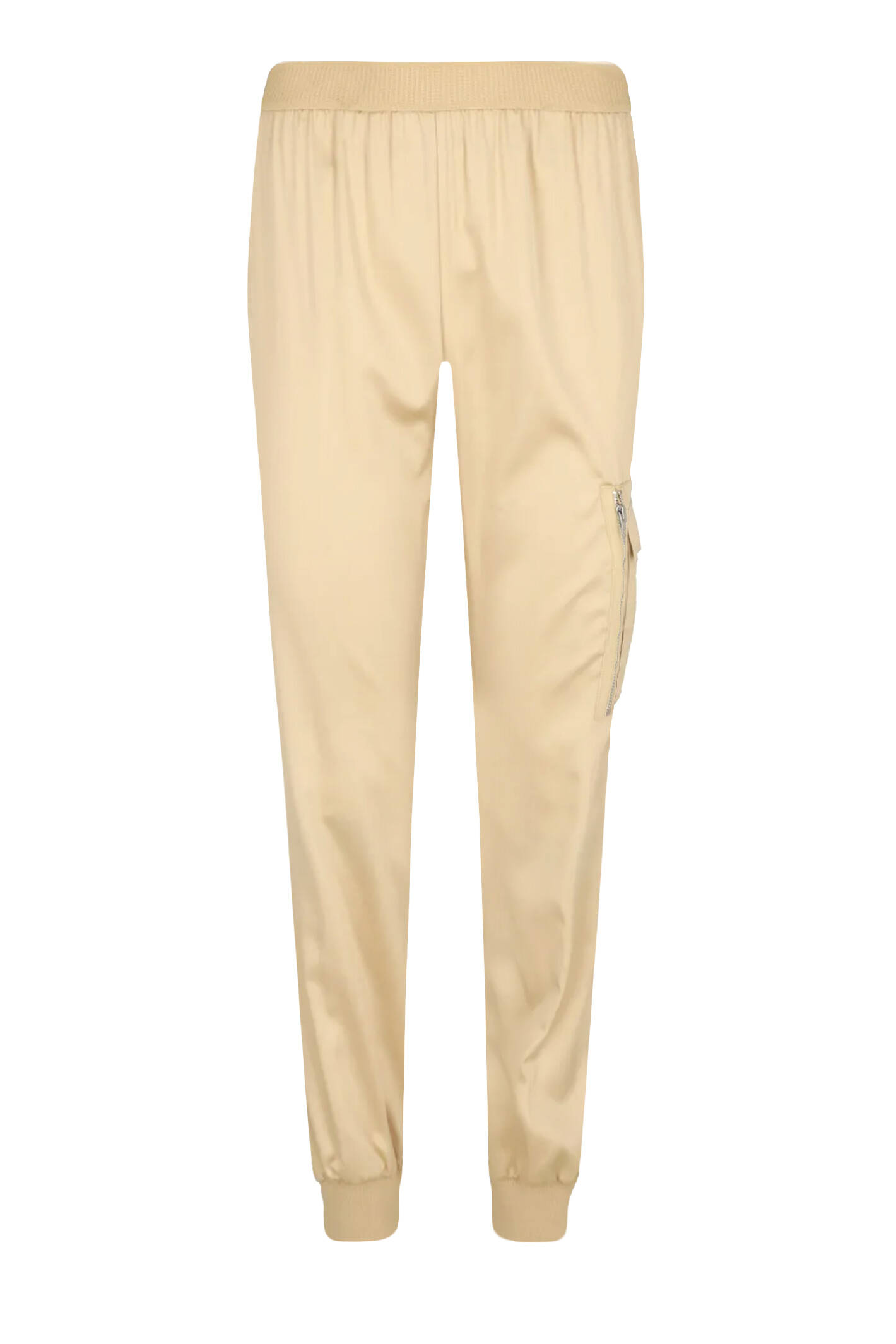 Cатенен спортен панталон | Regular Fit My Twin | бежов | Gomez.bg