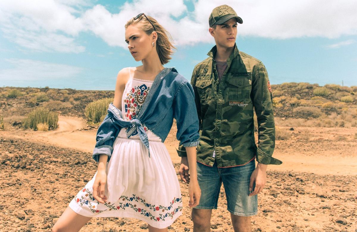 Нова колекция на Superdry, вдъхновена от модата на различни кътчета от света.