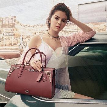 Selena Gomez в кампанията Coach есен 2018